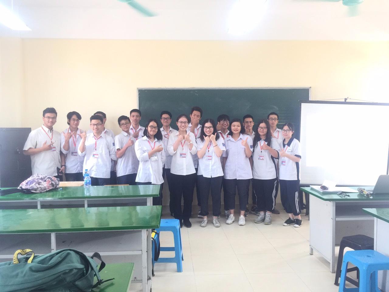 Chúc các con đội tuyển HSG lớp 12 bình tĩnh, tự tin và đạt kết quả cao