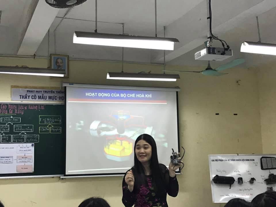 Kì thi Giáo viên Giỏi cấp thành phố môn Công nghệ tại trường THPT Việt Đức